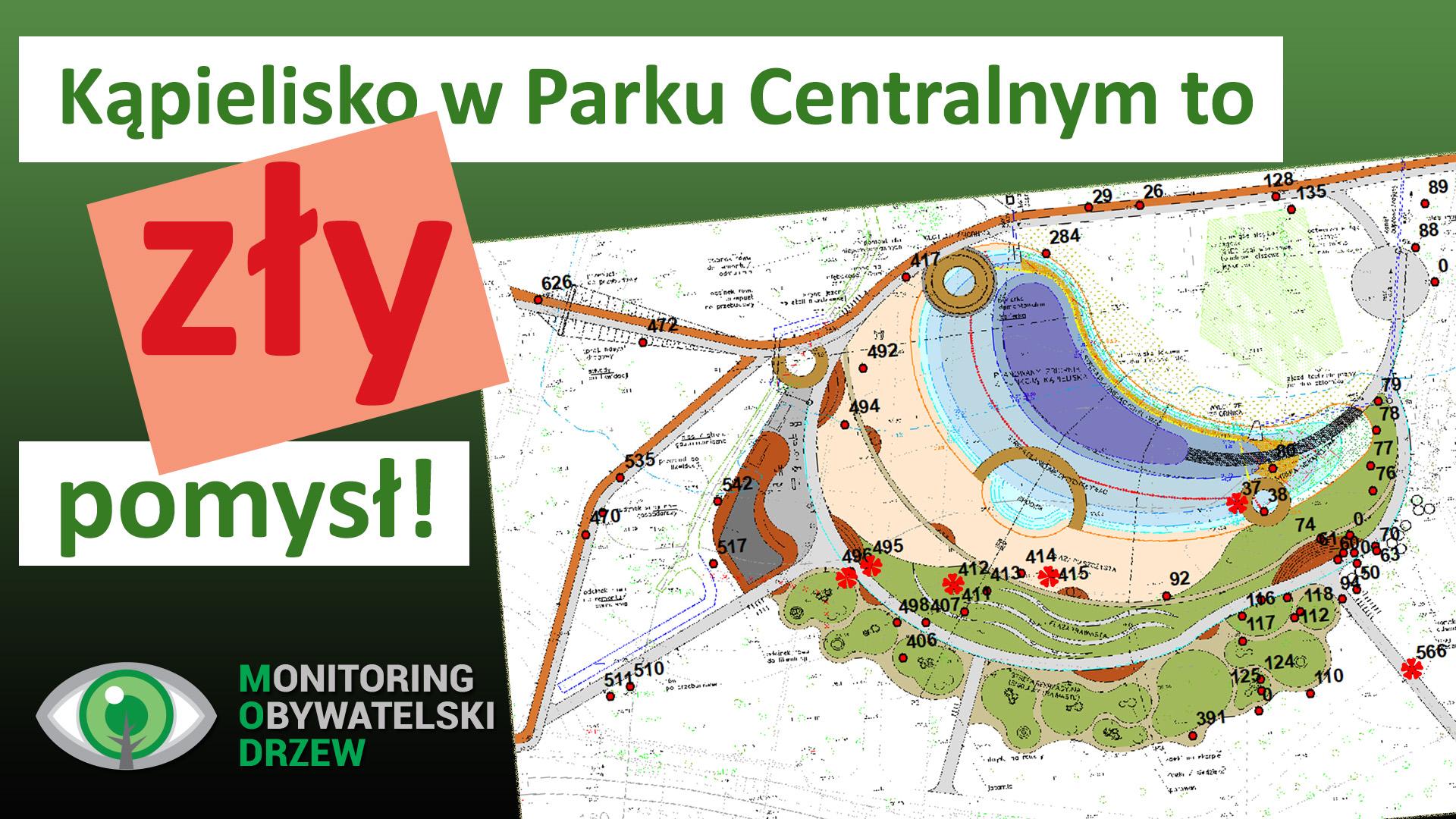 Dlaczego kąpielisko w Parku Centralnym to zły pomysł?