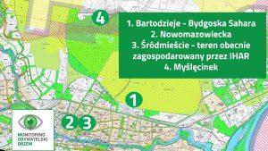 Uwagi do studium cz.4 – Bartodzieje, Śródmieście, Myślęcinek
