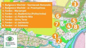 Uwagi do studium cz.5 – Bydgoszcz Wschód, Fordon, Mariampol